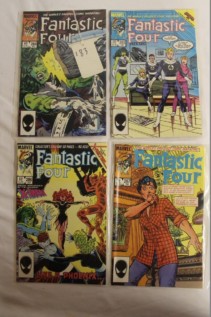 Fantastic Four comic book lot - 3