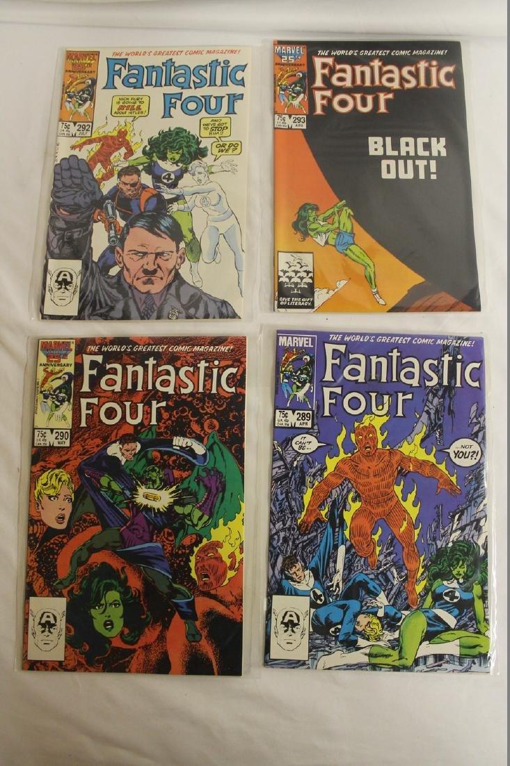 Fantastic Four comic book lot - 4