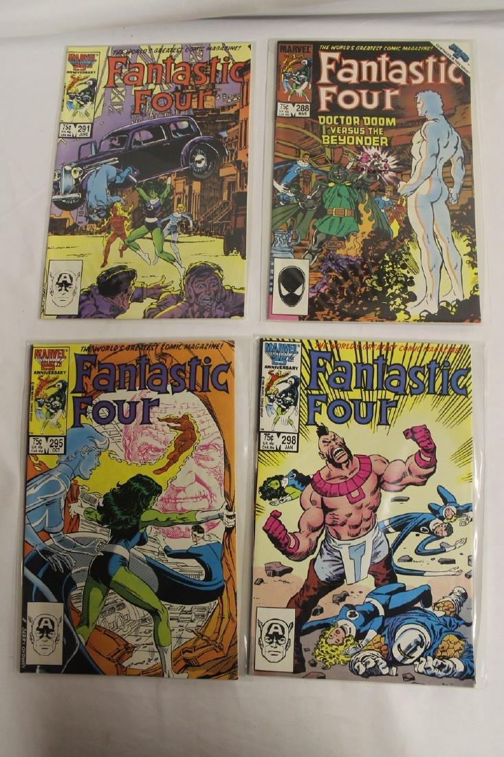 Fantastic Four comic book lot - 5
