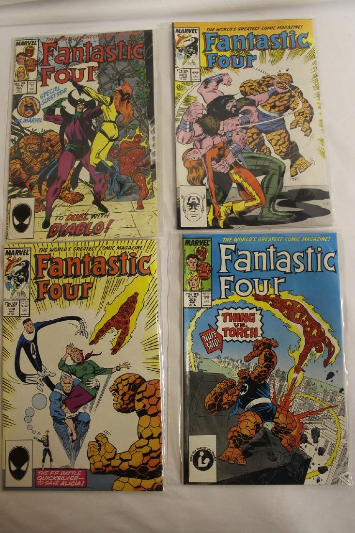Fantastic Four comic book lot - 8