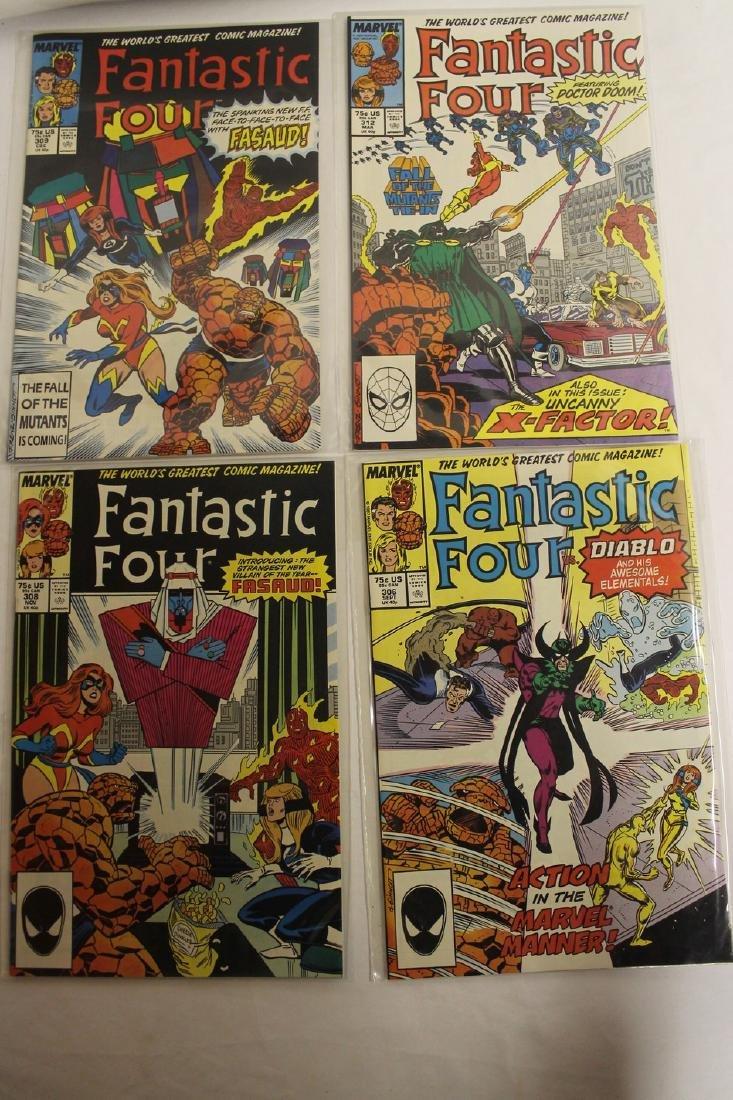 Fantastic Four comic book lot - 9