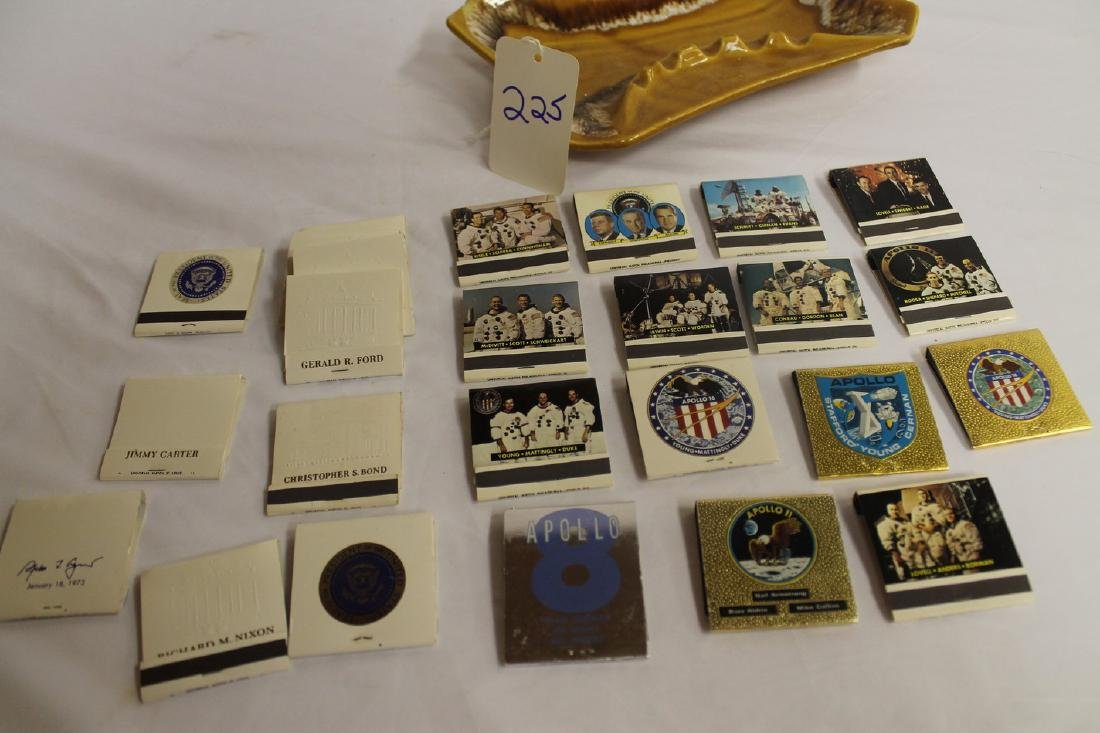 Lot of Commemorative Apollo and Presidential Matchbooks