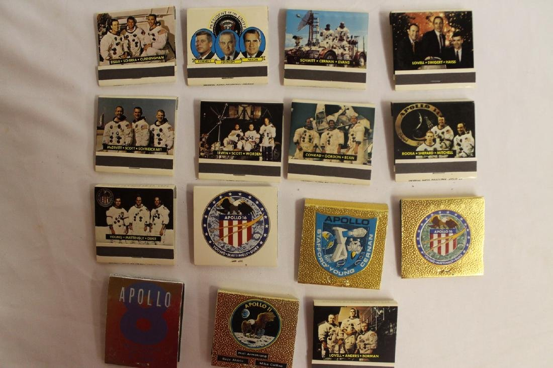 Lot of Commemorative Apollo and Presidential Matchbooks - 5