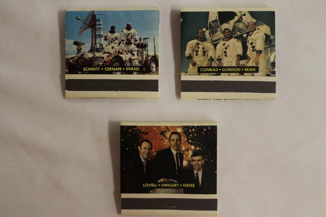 Lot of Commemorative Apollo and Presidential Matchbooks - 7