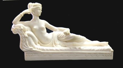 14: Marble statue/composition