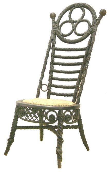 18: Wicker chair - Robert Mitchell
