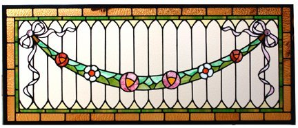 19A: 2 stained glass windows