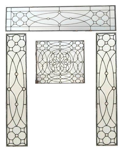 210: Beveled glass entrance