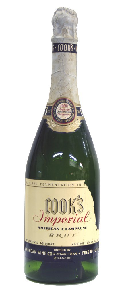 1: Cook's Display Champagne Bottle
