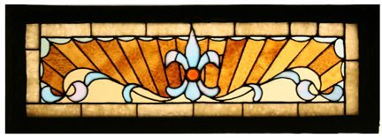 2: Stained Glass Victorian Transom