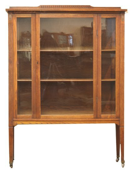 4: Mission Oak China Cabinet