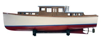 16: Toy Wooden Model Ship