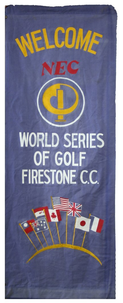 17: World Series Golf Banner