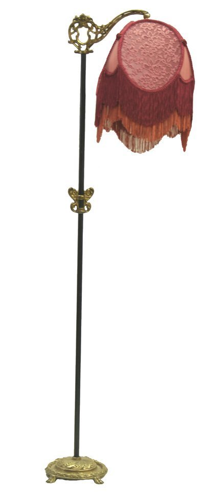 19: Cast Iron Floor Lamp