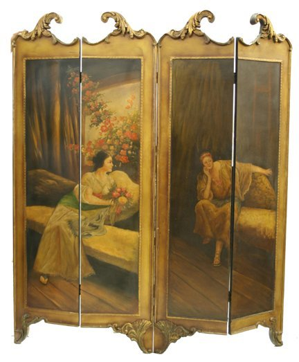 24: New French Style Dressing Screen