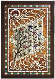 277: Stained glass window
