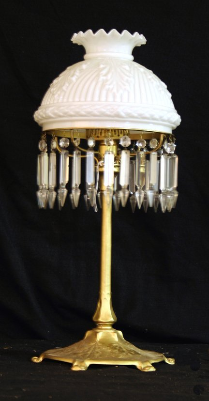 322: Reed And Barton Lamp - Circa 1890