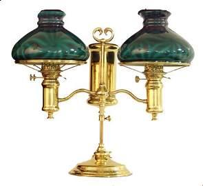 477: Double Student Desk Lamp