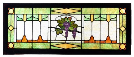 1: Stained Glass Transom