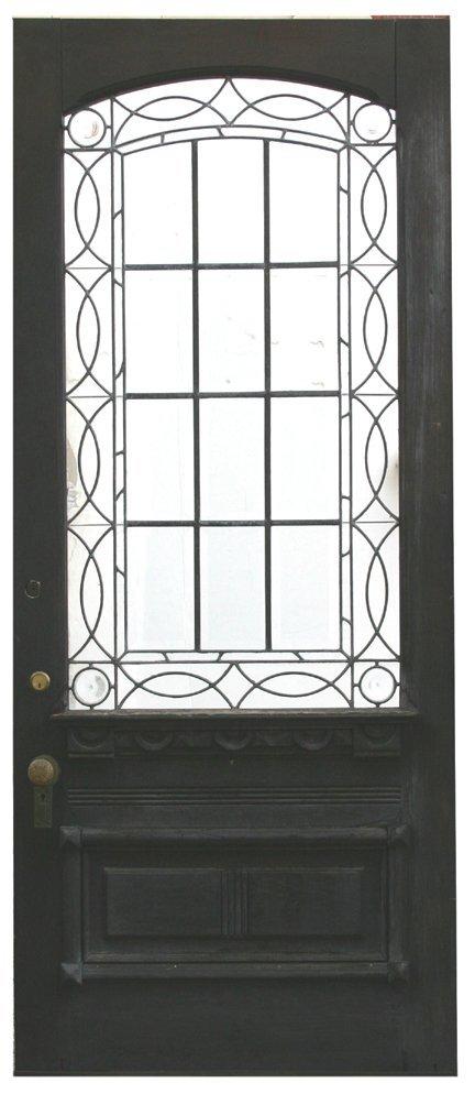 9: Arch Top Beveled Door