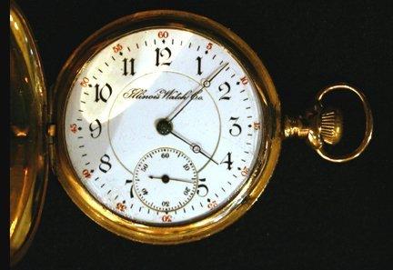 13: Gold Pocket Watch - Illinois