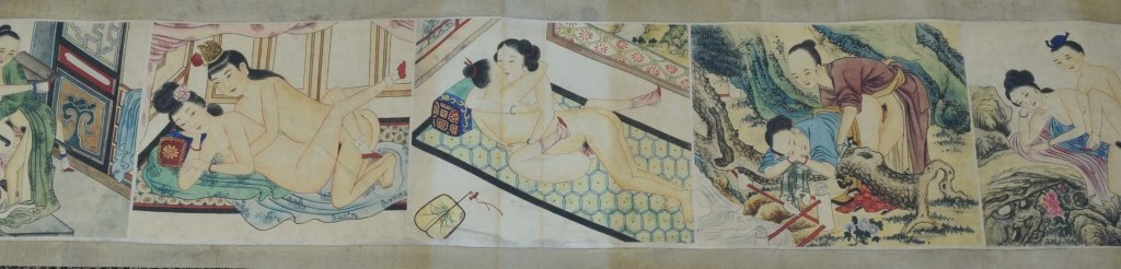 "Chinese ""Chun Gong Tu"" Scroll Painting - 2"