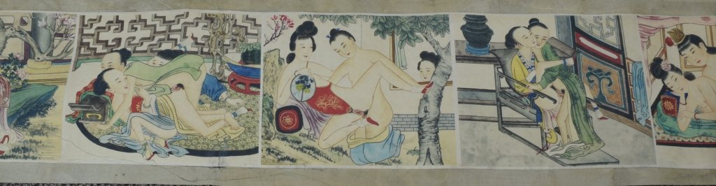 "Chinese ""Chun Gong Tu"" Scroll Painting - 3"