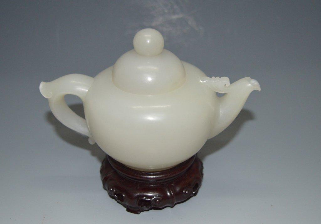 Hetianyu Jade Tea Pot