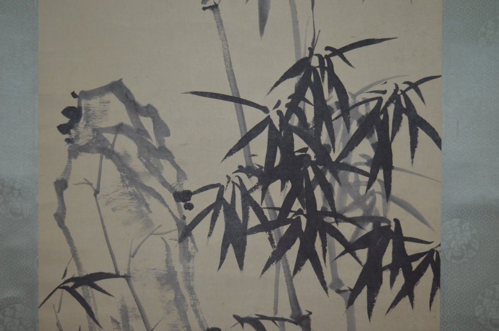 Zheng Xie (1693–1765), Bamboo and Rocks. - 4