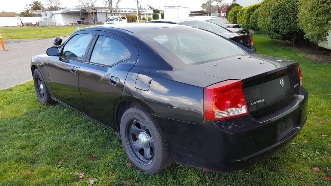 2009 Dodge Charger Police Sedan #76 - 3