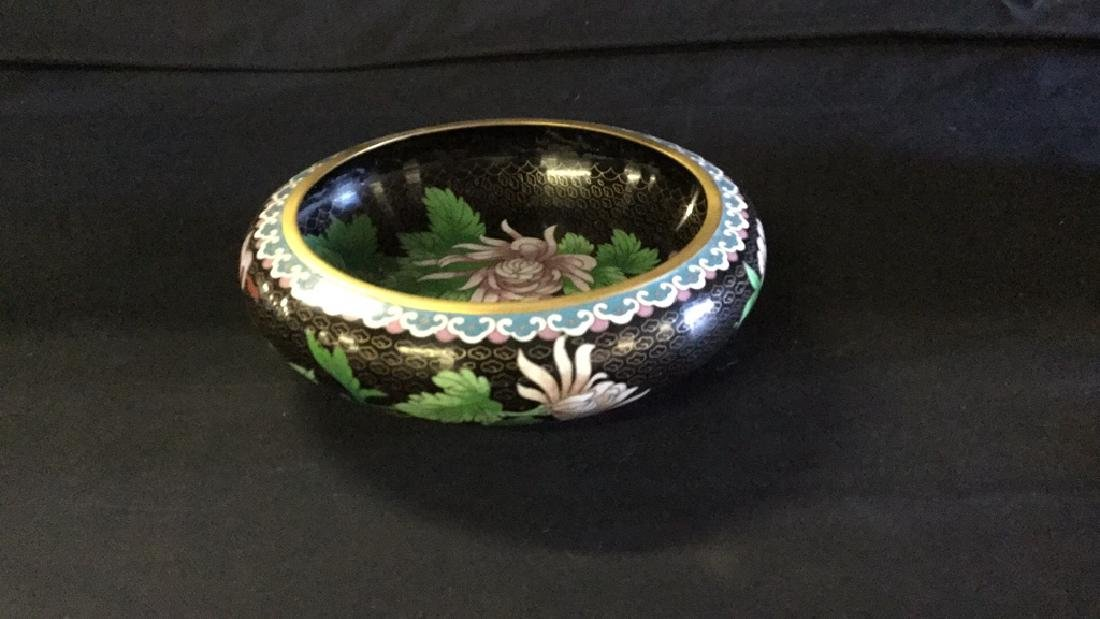 Cloisonné bowl