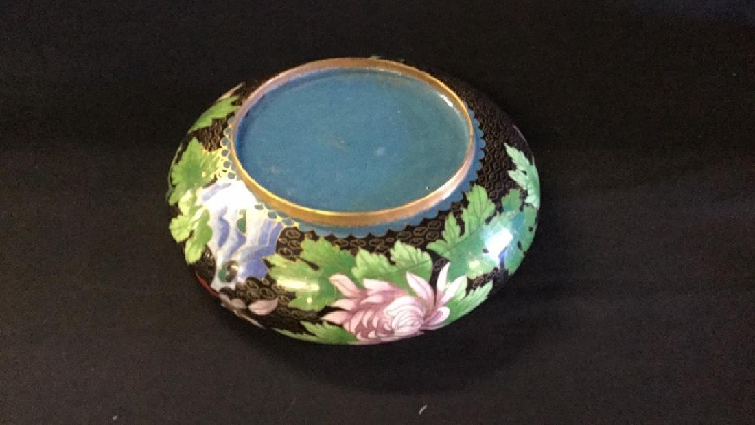 Cloisonné bowl - 2