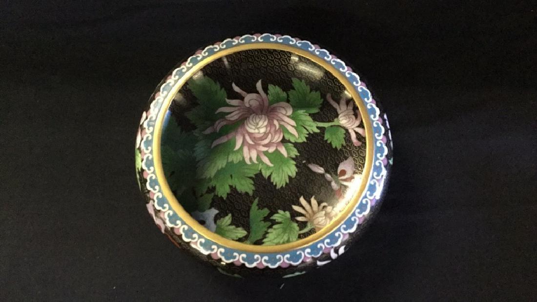 Cloisonné bowl - 3