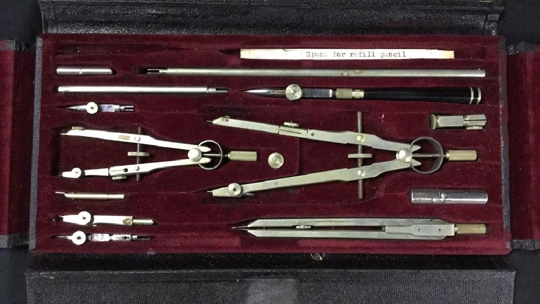 A. Lietz drafting tool set from Germany - 2