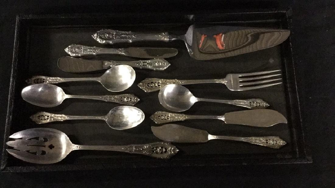 11 pieces of Wallace sterling silver