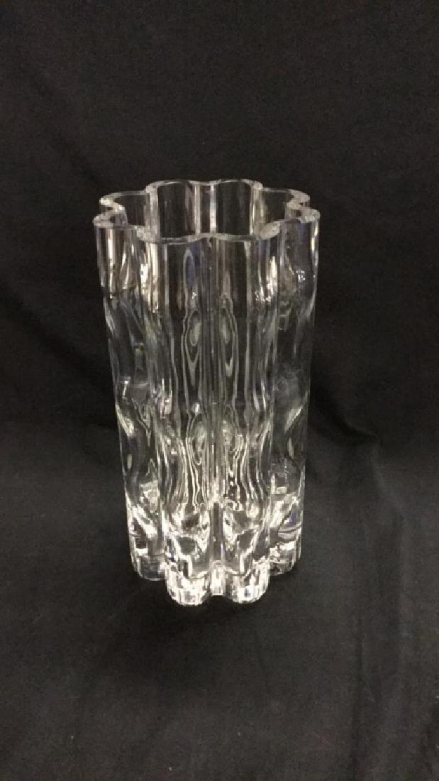 Orrefors Crystal vase. 1976