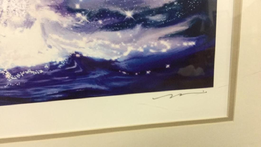 Signed original Print of Whale 105/500 - 2