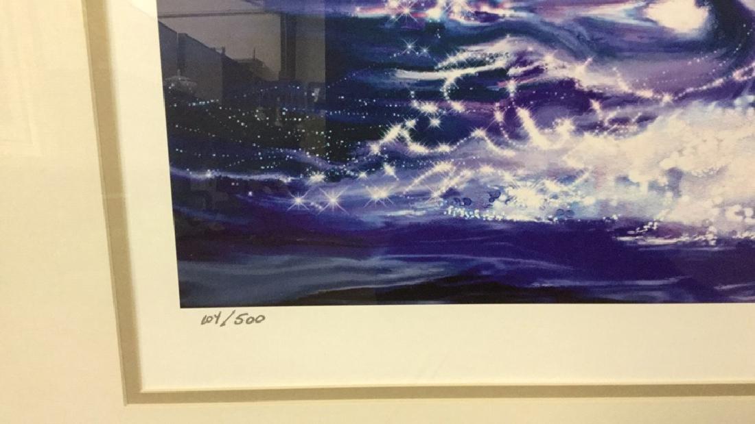 Signed original Print of Whale 105/500 - 3
