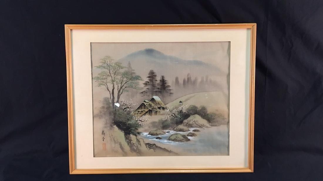 Japanese Painting on Silk