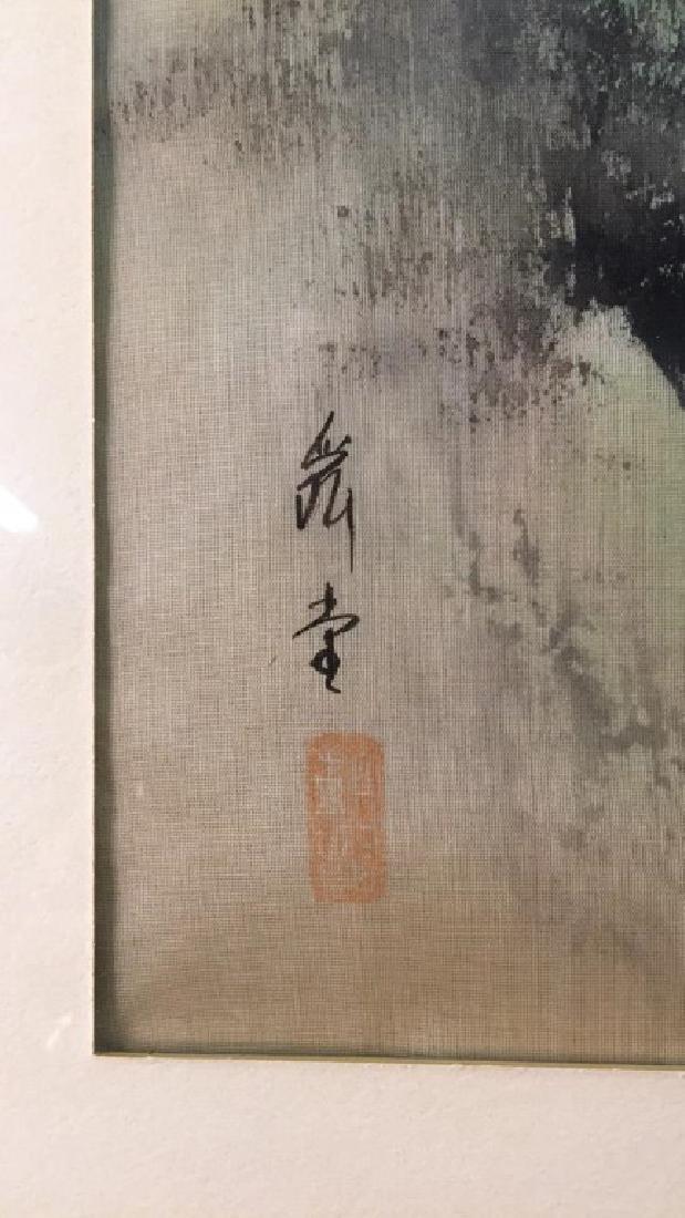 Japanese Painting on Silk - 2