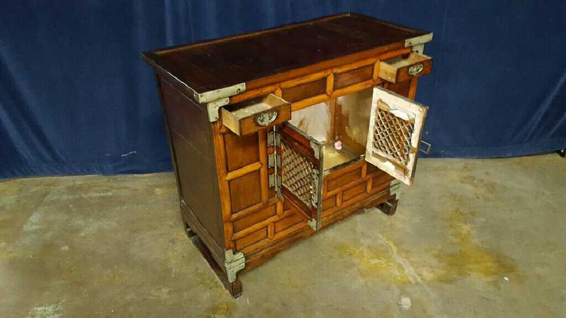 Two Asian style commodes - 4