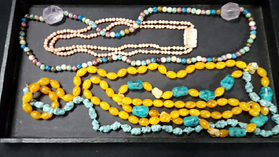 Miscellaneous necklaces with choker - 2