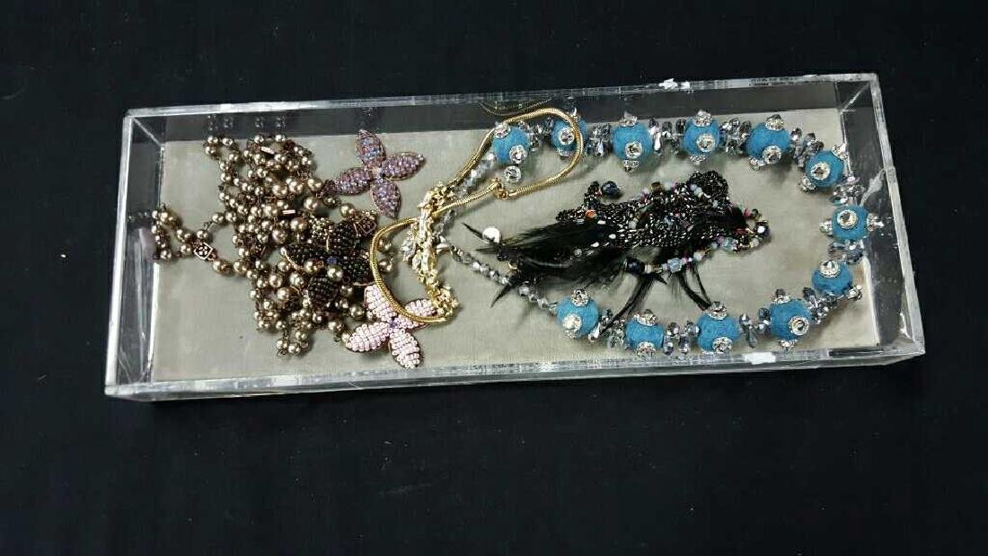 Two trays of Miscellaneous costume jewelry - 3