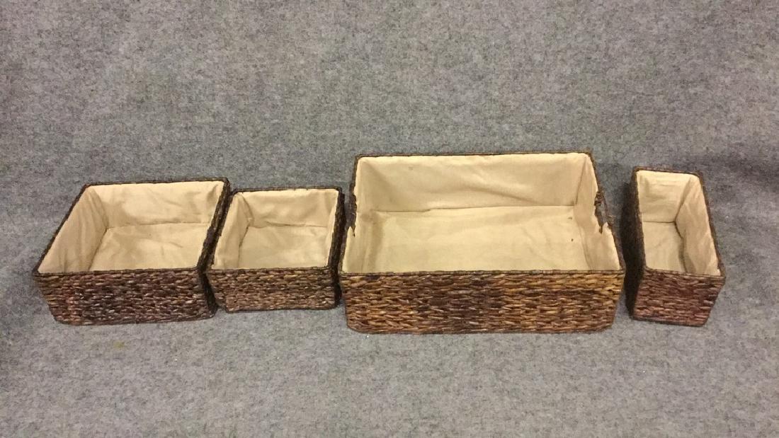 Matching basket set