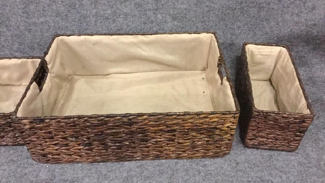 Matching basket set - 2