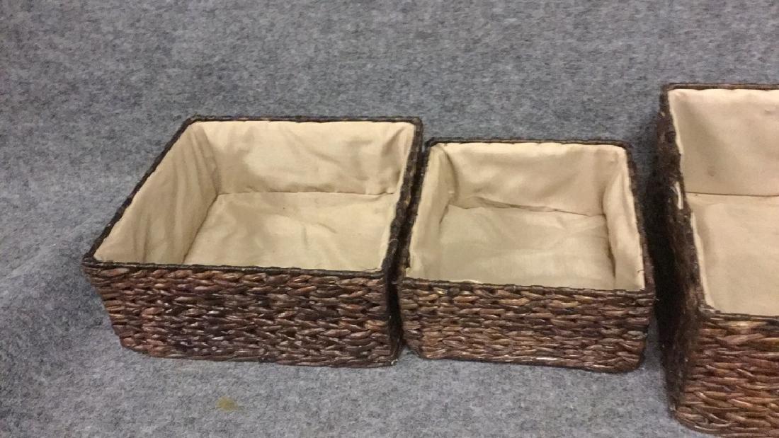 Matching basket set - 3