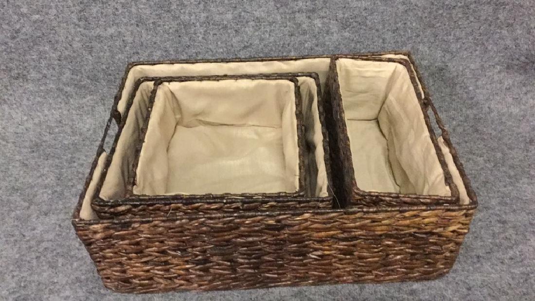 Matching basket set - 4