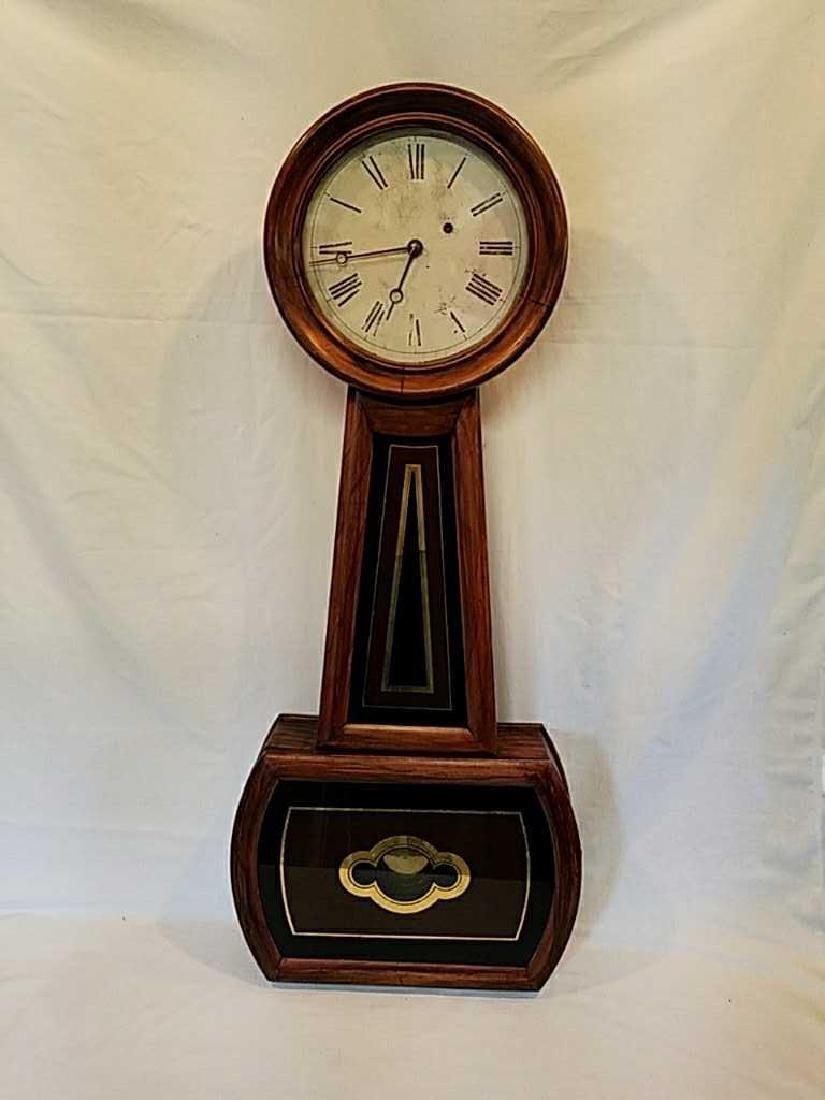 "American E´glomise´ Banjo Clock ""Price Reduced"""