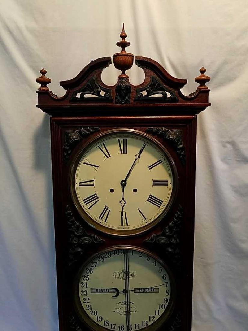 Ithaca Calendar Clock Co., Ithaca, NY, - 2