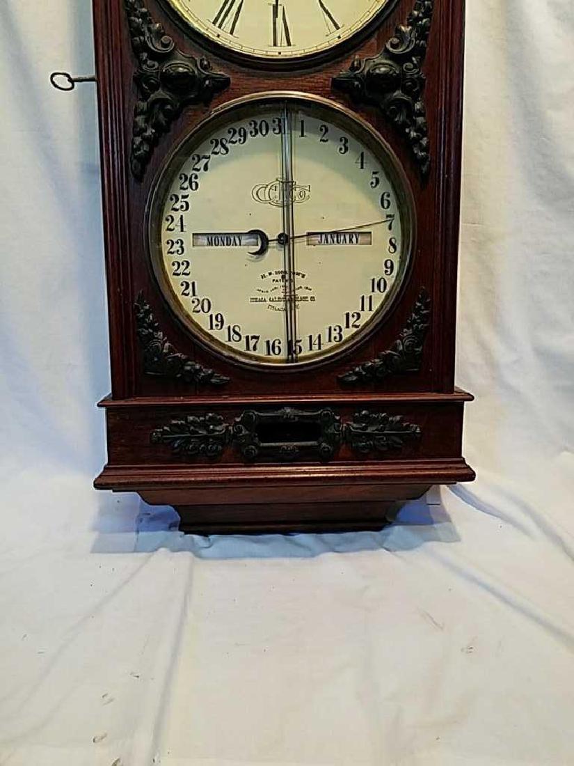 Ithaca Calendar Clock Co., Ithaca, NY, - 3